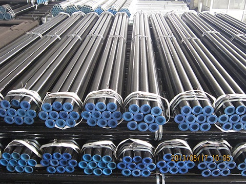 carbon steel seamless pipe ASTM A53, A106, API 5L