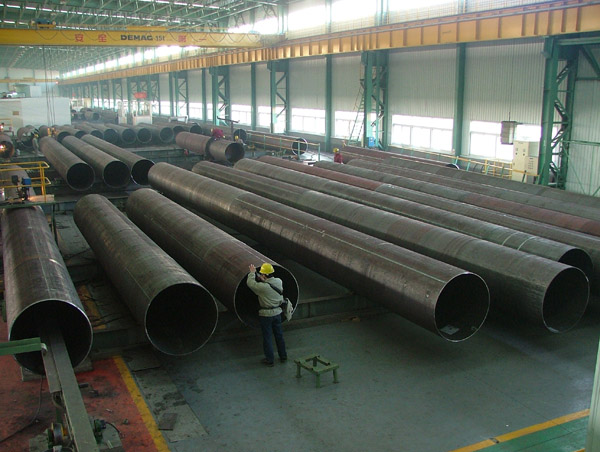 API 5L LSAW Steel pipe/LSAW pipe/SAW pipe/longitudinal welded pipe