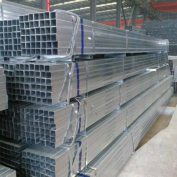 Pre-galvanized rectangular pipe, square steel pipe