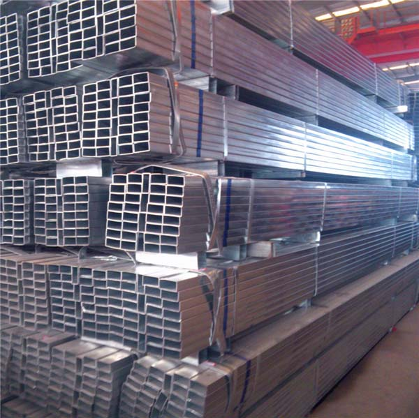 Pre-galvanized rectangular steel tubes, Pre-galvanized hollow sections