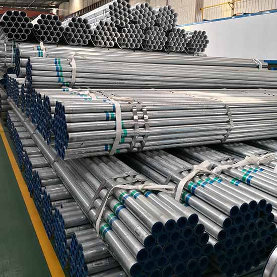 BS1387 Hot dipped galvanized pipes
