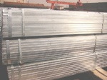 Galvanized Rectangular Steel Pipe / tubes